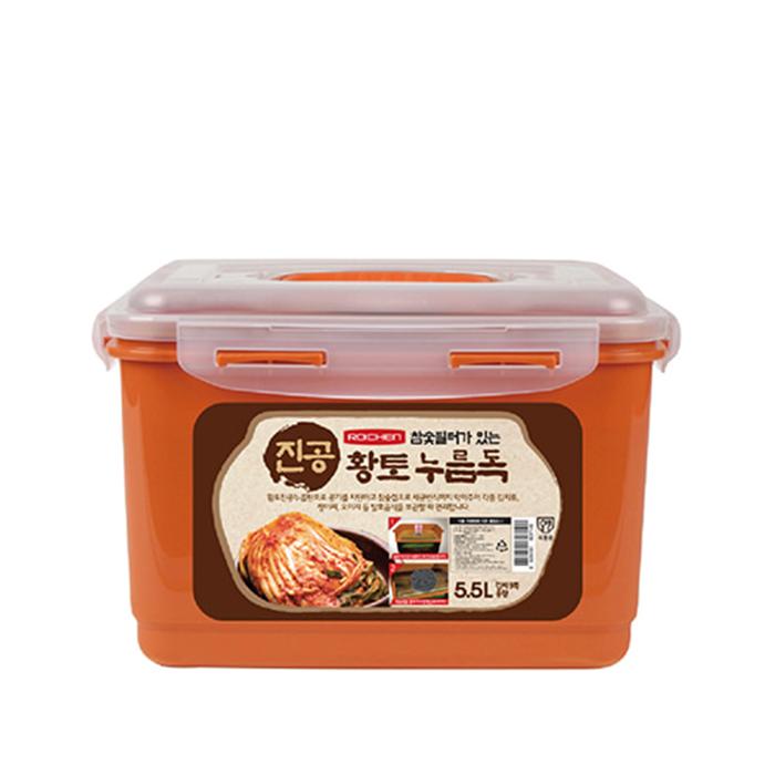 로이첸 참숯 진공 누름독 5.5L