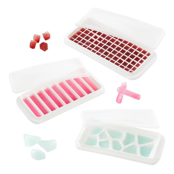 COOL 아이스트레이 3종 D혼합세트 (조각1,스틱1,미니1밀봉덮개포함)