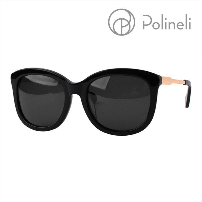 [Polineli] 폴리넬리 SandyⅡ 01 [샌디Ⅱ] 패션 럭셔리 선글라스