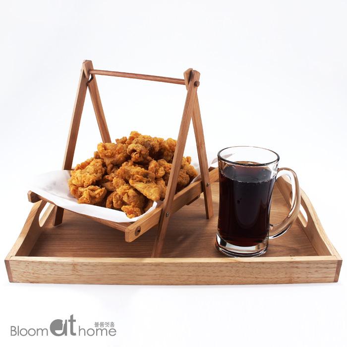대나무 튀김 바구니 1P