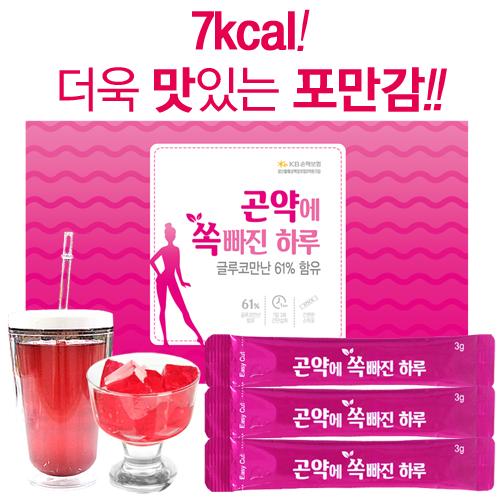 곤약에쏙빠진하루 90g(3gx30포)글루코만난61%함유/맛있게배부른곤약