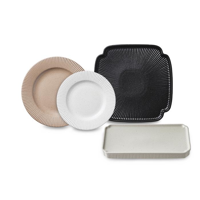 [오덴세] 시손느 플레이팅 접시 4p
