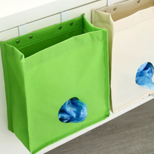 미니멀 비닐봉투 정리함 1개(색상랜덤)