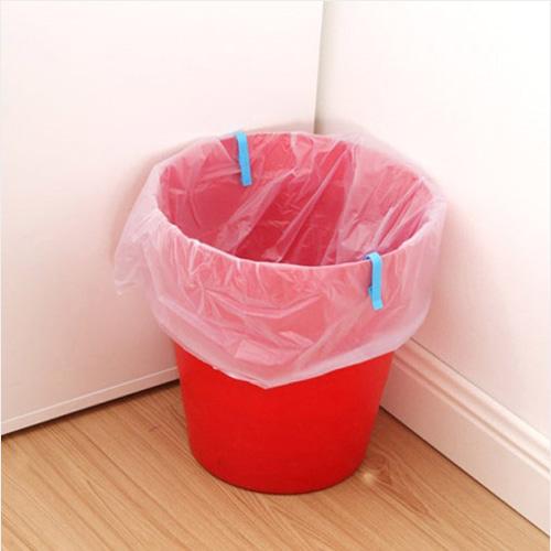 쓰레기봉투 L집게 6개 1세트(색상랜덤)