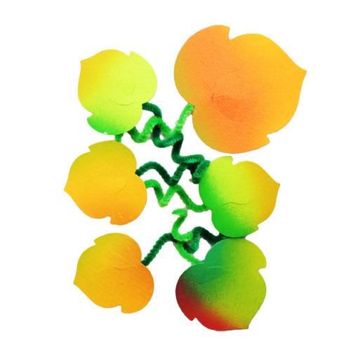 [아트공구][유니네2996]2500 종이 덩쿨나뭇잎 가을