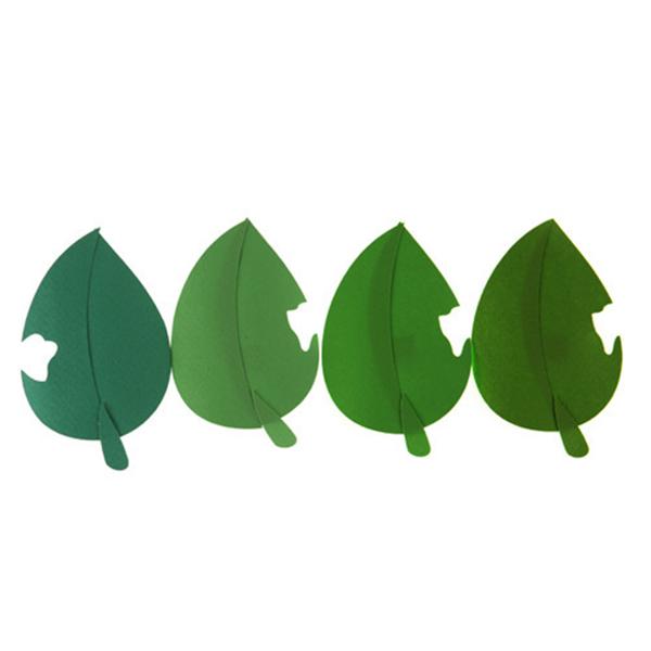 [아트공구][유니네2993]2500 종이 나뭇잎 2번