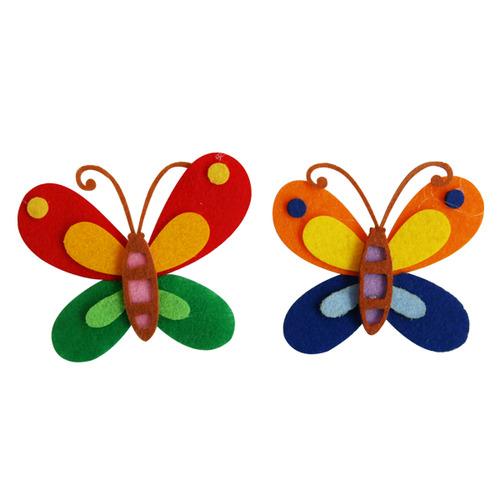 [아트공구][유니네394]2500 펠트 나비