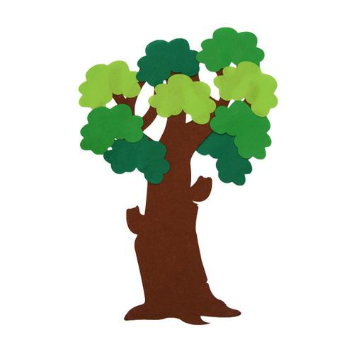[아트공구][유니네258]15000 펠트 나무 중 투톤