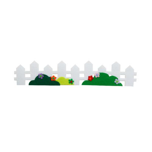[아트공구][유니네239]4000 펠트 미니흰색울타리