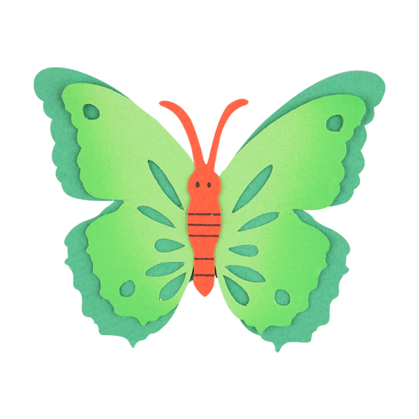 [아트공구][유니네2954]2000 종이 나비