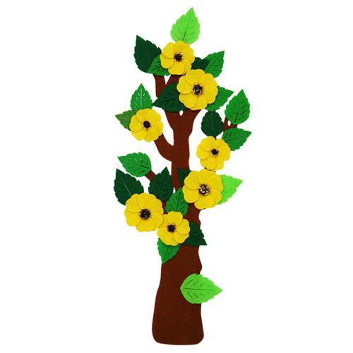 [아트공구][유니네281]12000 펠트 꽃핀나무
