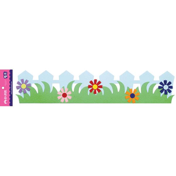 [아트공구][유니네150]4000 펠트 꽃울타리 B