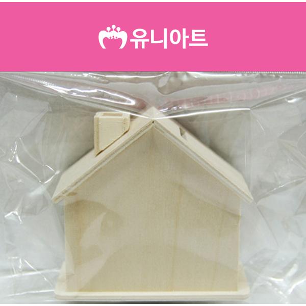 [아트공구][유니네2802]2000 나무저금통 집 굴뚝