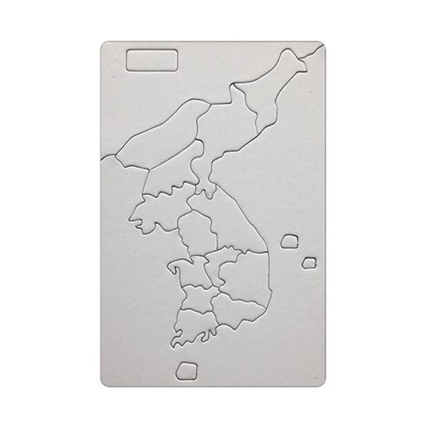 [아트공구][유니네2831]1200 그리기퍼즐 한국지도 소