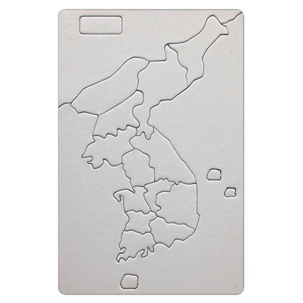 [아트공구][유니네2554]1500 그리기퍼즐 한국지도 대