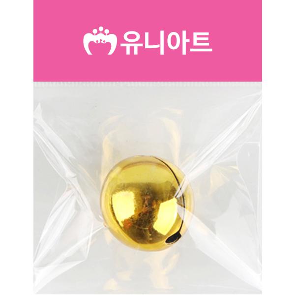 [아트공구][유니네2313]1700 미니방울 28mm 금/은