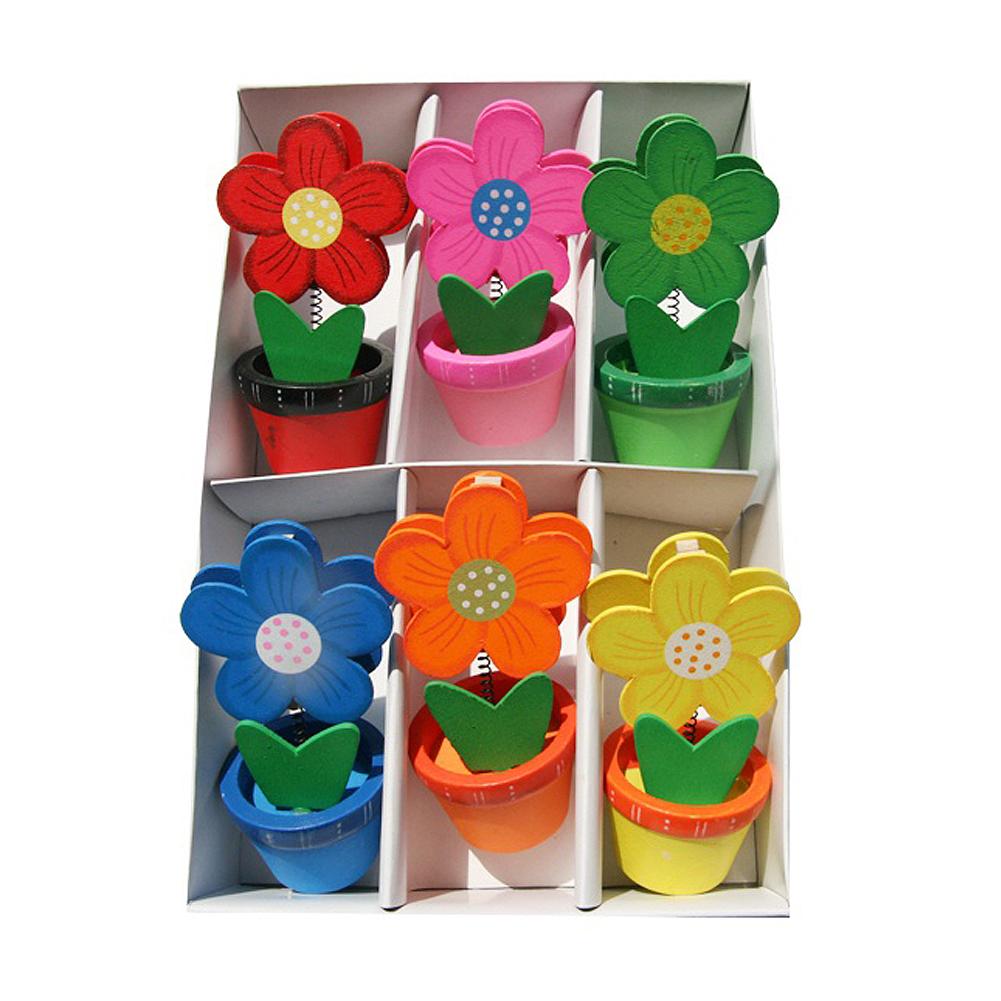 [아트공구][유니네1962]1500 메모홀더찍찍이세트 꽃