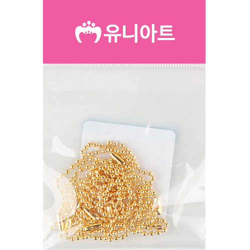 [아트공구][유니네2100]1500 군번줄 15cm 금색