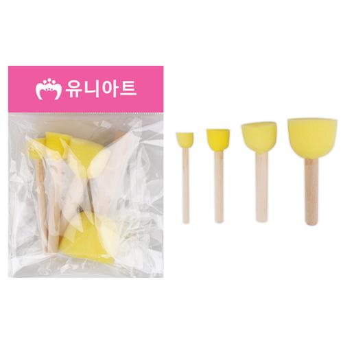 [아트공구][유니네2043]2000 도장찍기스펀지 3번