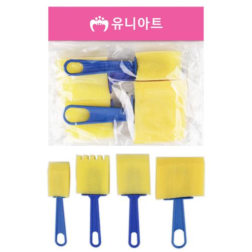 [아트공구][유니네2040]3500 도장찍기스펀지 9번