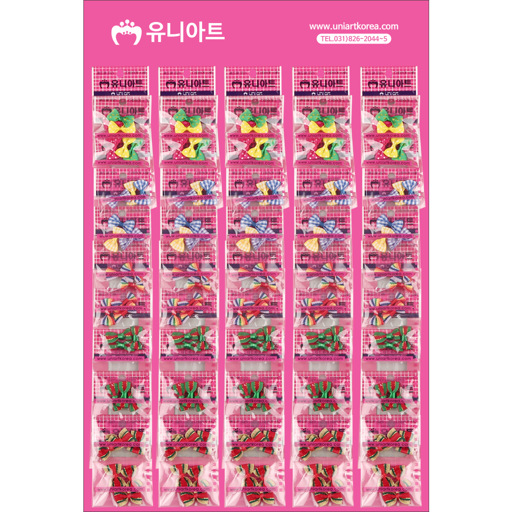 [아트공구][유니네1432]500 혼합리본 x50