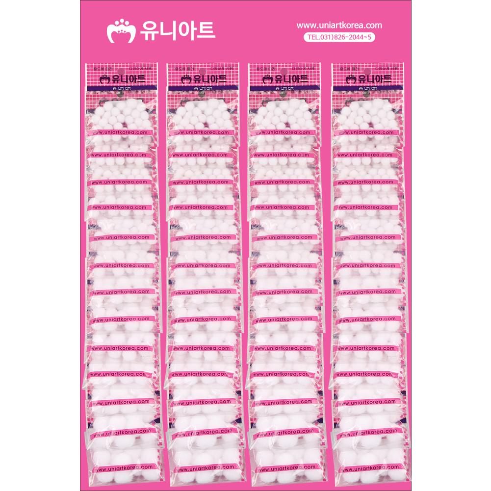 [아트공구][유니네1435]500 퐁퐁 x50 흰색