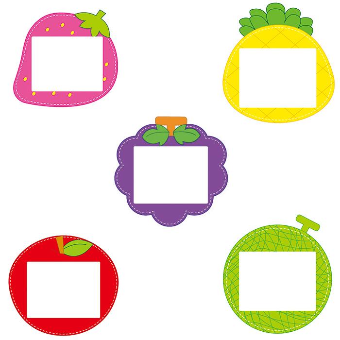 [아트공구][유니네835]다용도 초등명찰 과일(5색상)